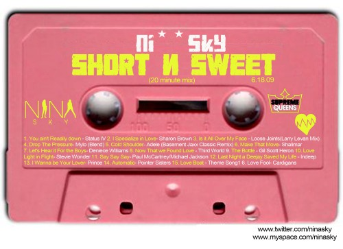 ShortnSweet 6.18.09